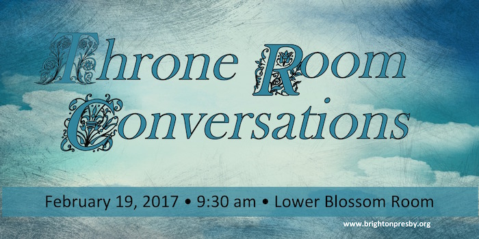 Throne Room Conversations