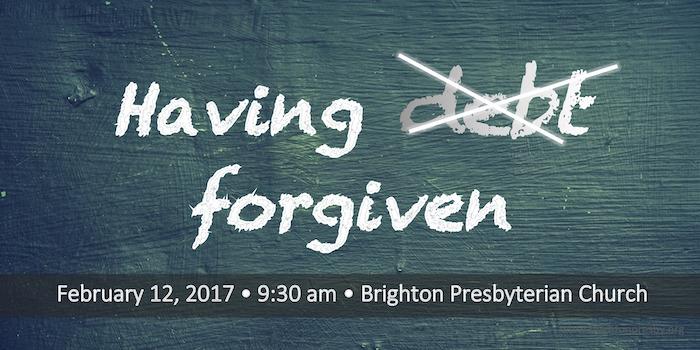 Having Debt Forgiven