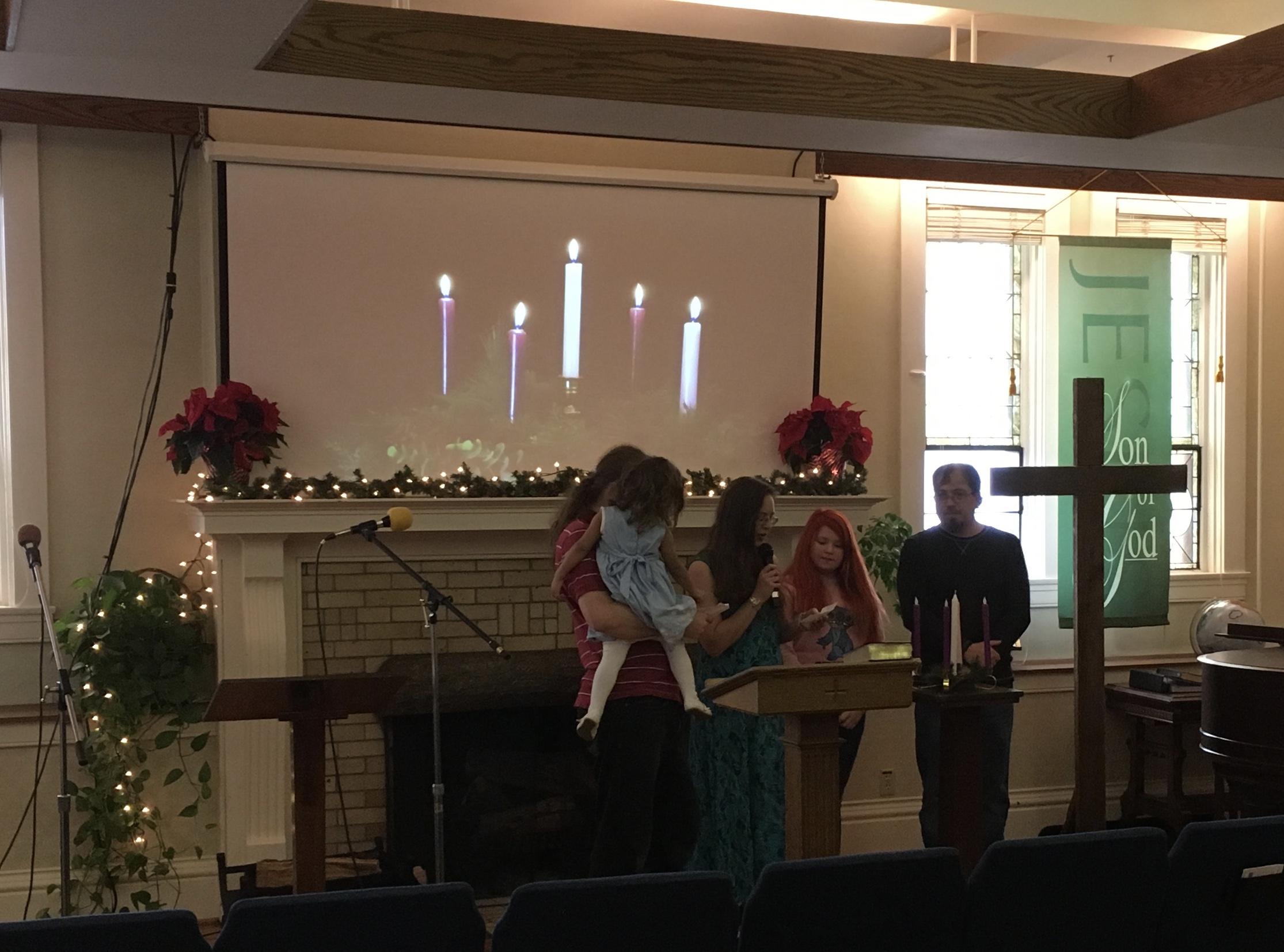 Advent at Brighton Presbyterian Church