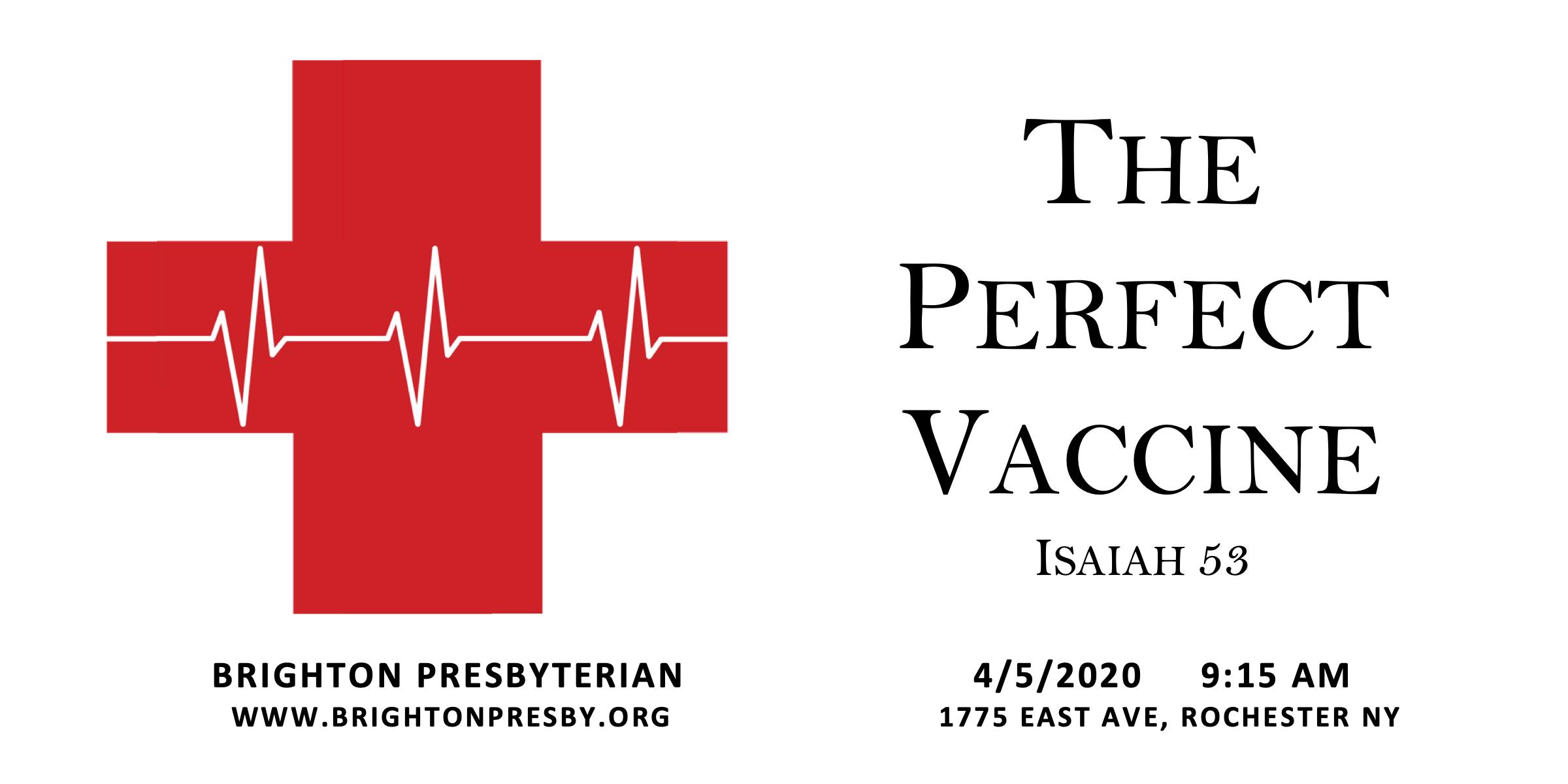 The Perfect Vaccine
