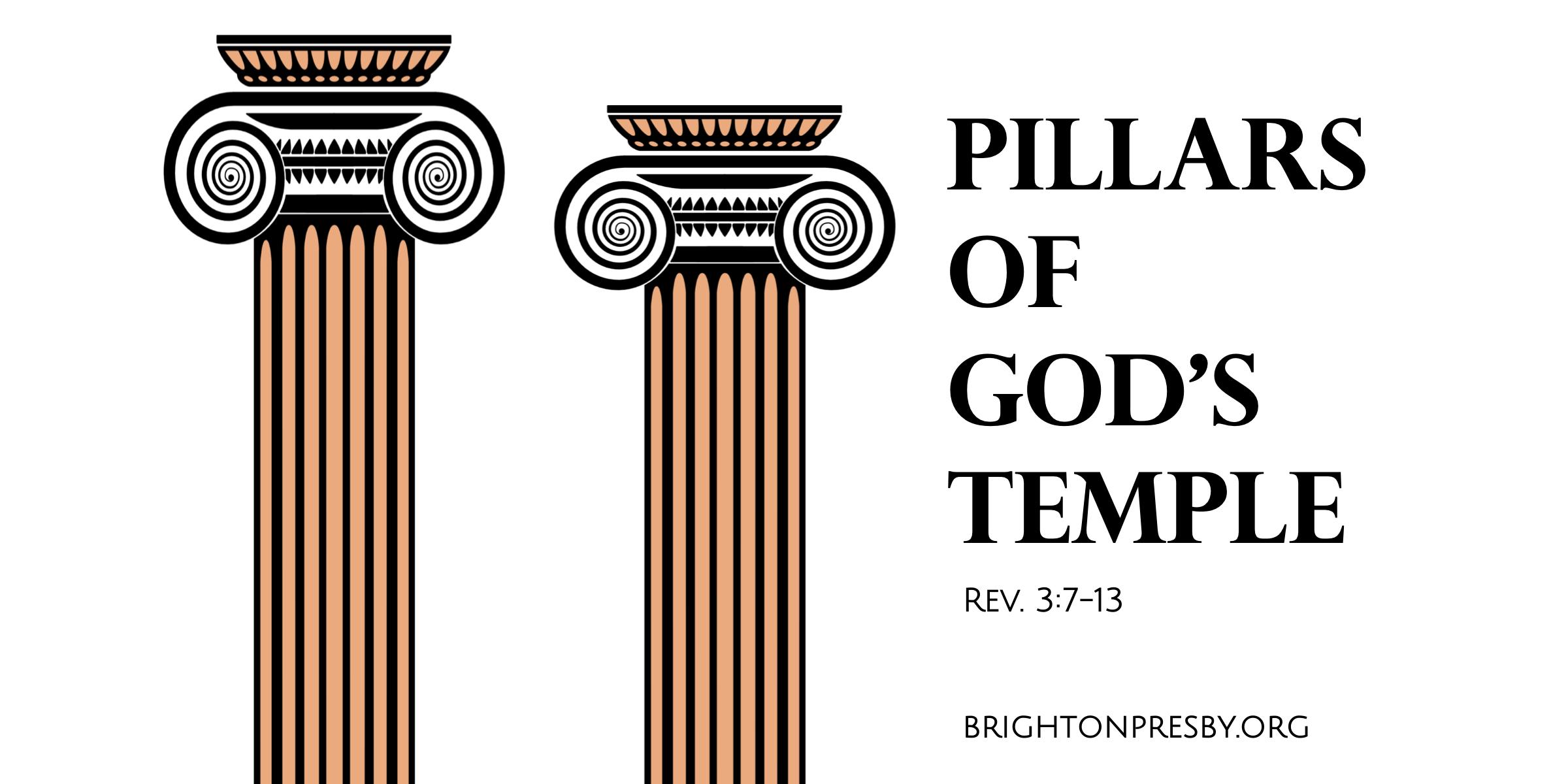 Pillars of God's Temple (Revelation Series Part 8)