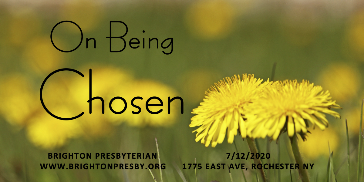 On Being Chosen (Part 1 of 1 Thessalonians Series)