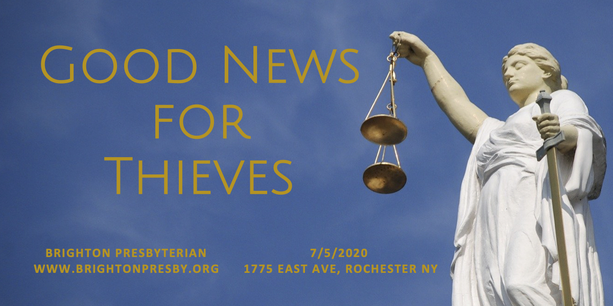 Good News for Thieves (The Eighth Commandment)